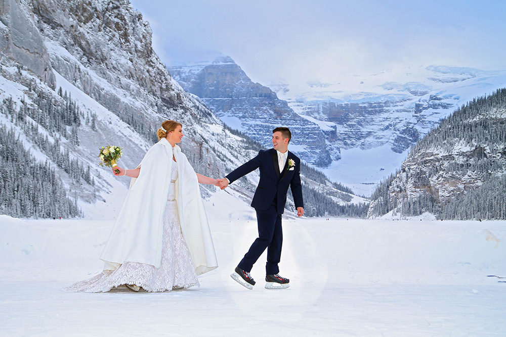 Banff wedding photographer. Lake Louise wedding photography. Elope in Banff. Chateau Lake Louise